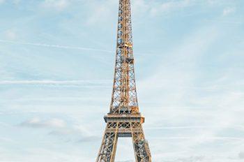 vue de la tour Eiffel à Pari